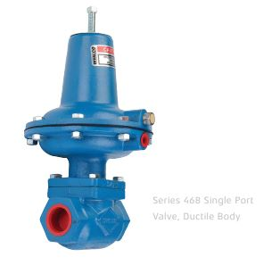Original Image: Series 468, Ductile Body, Diaphragm Operated, Two-Way, Single Port
